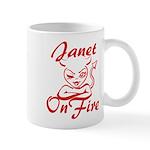 Janet On Fire Mug