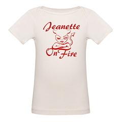 Jeanette On Fire Tee
