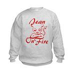 Jean On Fire Kids Sweatshirt