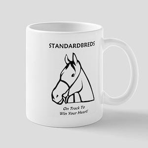 Standardbreds... On Track To Win Your Heart! Mug