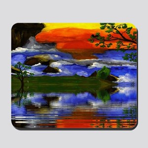 Raging Ocean Waters Mousepad