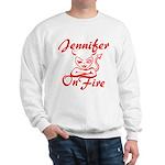 Jennifer On Fire Sweatshirt
