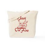 Jeri On Fire Tote Bag