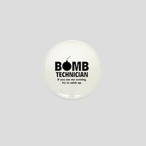 Bomb Technician Mini Button