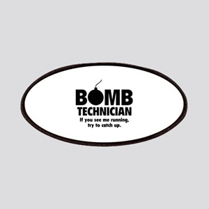 Bomb Technician Patches