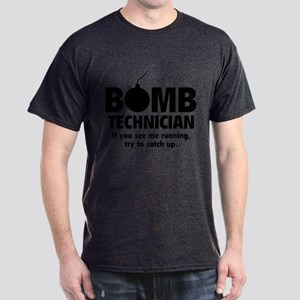 Bomb Technician Dark T-Shirt