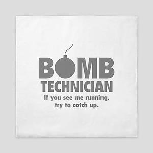 Bomb Technician Queen Duvet