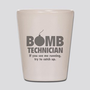 Bomb Technician Shot Glass