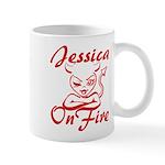 Jessica On Fire Mug
