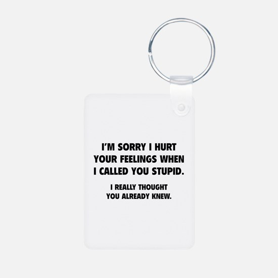I'm Sorry Keychains