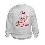 Jo On Fire Kids Sweatshirt