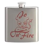 Jo On Fire Flask