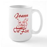 Joann On Fire Large Mug