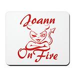 Joann On Fire Mousepad