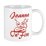 Joanna On Fire Mug