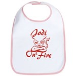 Jodi On Fire Bib