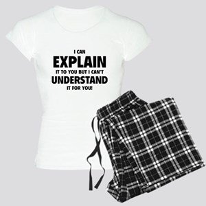 Explain Understand Women's Light Pajamas