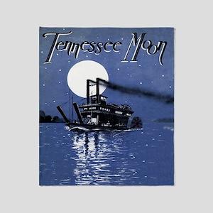 Tennessee Moon Throw Blanket