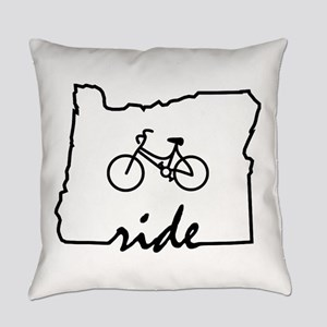 Ride Oregon Everyday Pillow