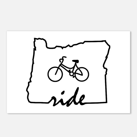 Ride Oregon Postcards (Package of 8)