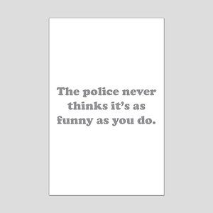 The Police Mini Poster Print