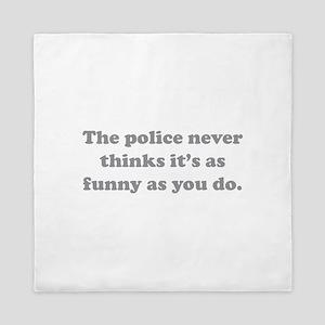 The Police Queen Duvet