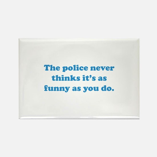 The Police Rectangle Magnet
