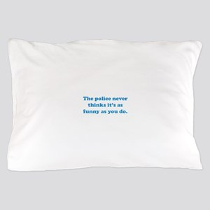 The Police Pillow Case