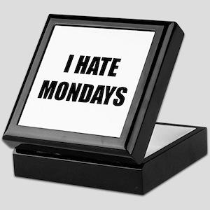 I Hate Mondays Keepsake Box
