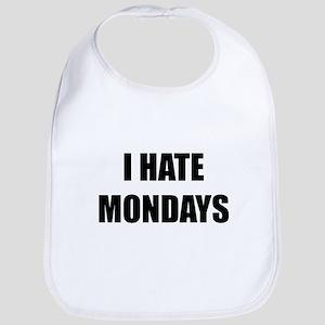 I Hate Mondays Bib