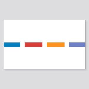 TMNT Sticker (Rectangle)