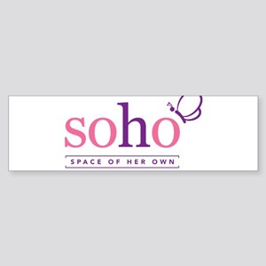 SOHO logo Bumper Sticker