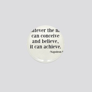 Napoleon Hill Quote Mini Button
