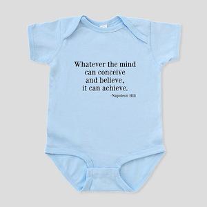 Napoleon Hill Quote Infant Bodysuit