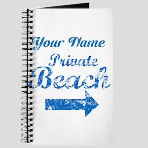 Custom Private Beach Journal