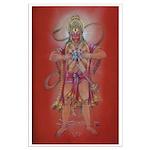 suj - Large Poster Hanuman