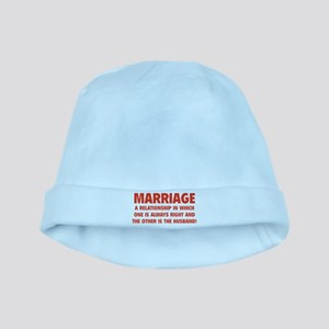 Marriage baby hat