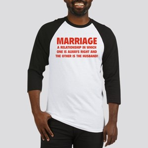 Marriage Baseball Jersey