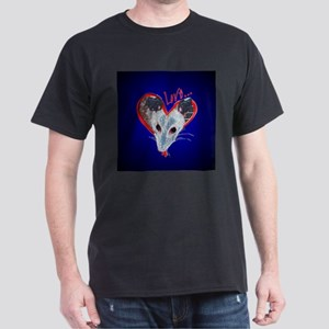 Possum Love Black T-Shirt