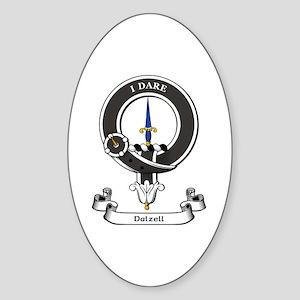 Badge-Dalzell Sticker (Oval)