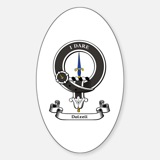 Badge-Dalzell Sticker (Oval)