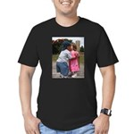 Lifes First Kiss Men's Fitted T-Shirt (dark)