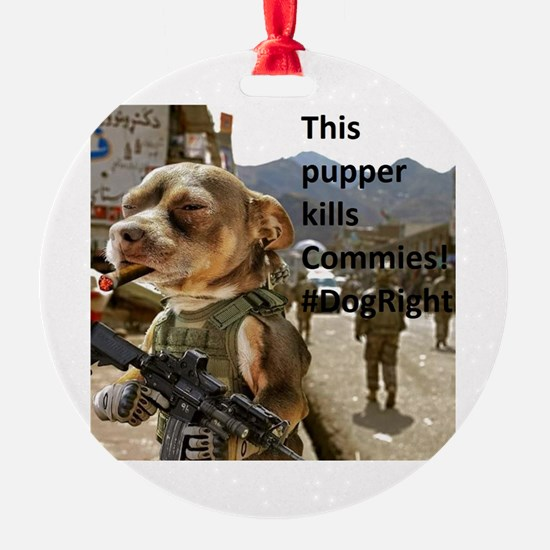 Funny Commie Ornament