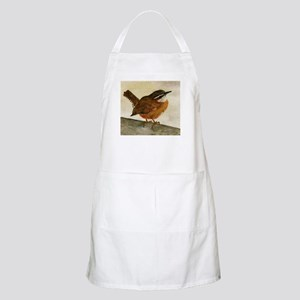 Carolina Wren Apron