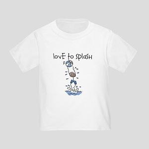 Love to Splash Stick Figure Toddler T-Shirt