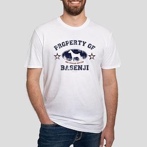 Basenji Fitted T-Shirt