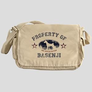 Basenji Messenger Bag