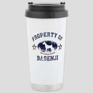 Basenji Stainless Steel Travel Mug
