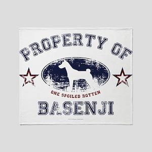 Basenji Throw Blanket