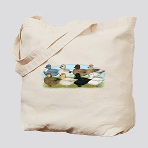 Eight Call Ducks Tote Bag